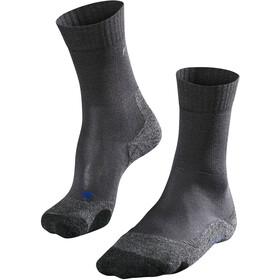 Falke TK2 Cool Calcetines de Trekking Mujer, asphalt melange